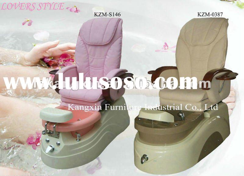 fashion LOVER Salon pedicure foot spa massage chair KZM-S146 & KZM-S0387 with Zero Gravity (CE c