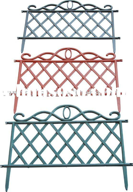 firm and colorful plastic mesh fence