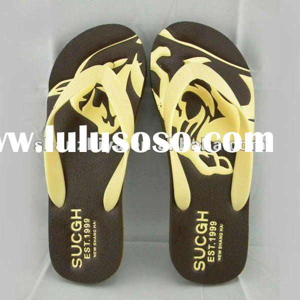 high quality hot sell flip top shoes men 2012 shenzhen china