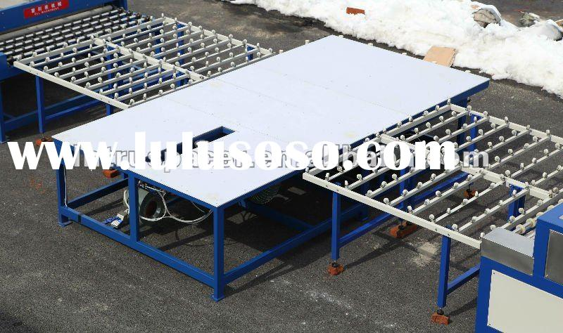 Insulated Glass Assembly : Glass assembly table for rubber spacer insulating
