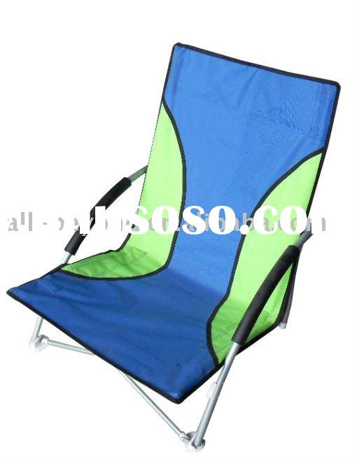 light weight folding aluminum tube beach chair