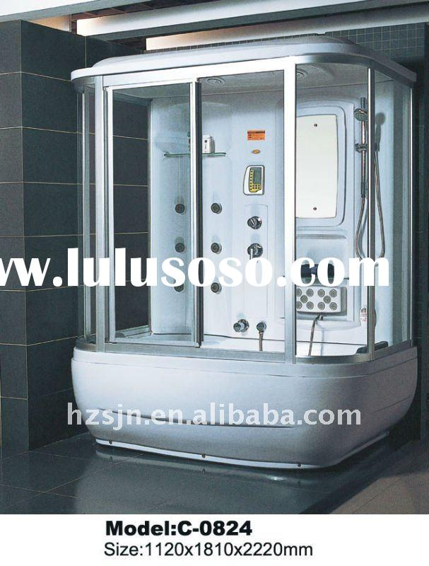 luxury Shower cabin with steam and jacuzzi