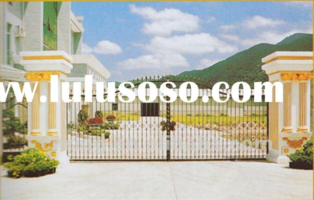 modern forged wrought iron gate designs