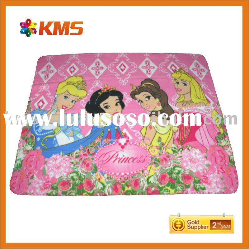 princess kids fleece blanket