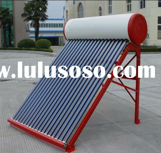 stainless pressure solar water heater(CE, ISO, CCC approved)