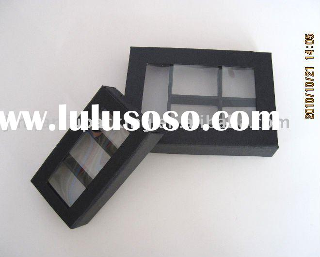 sweet candy boxes with clear window