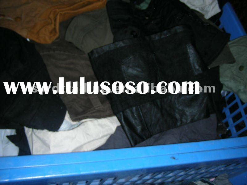 used clothing secondhand clothes