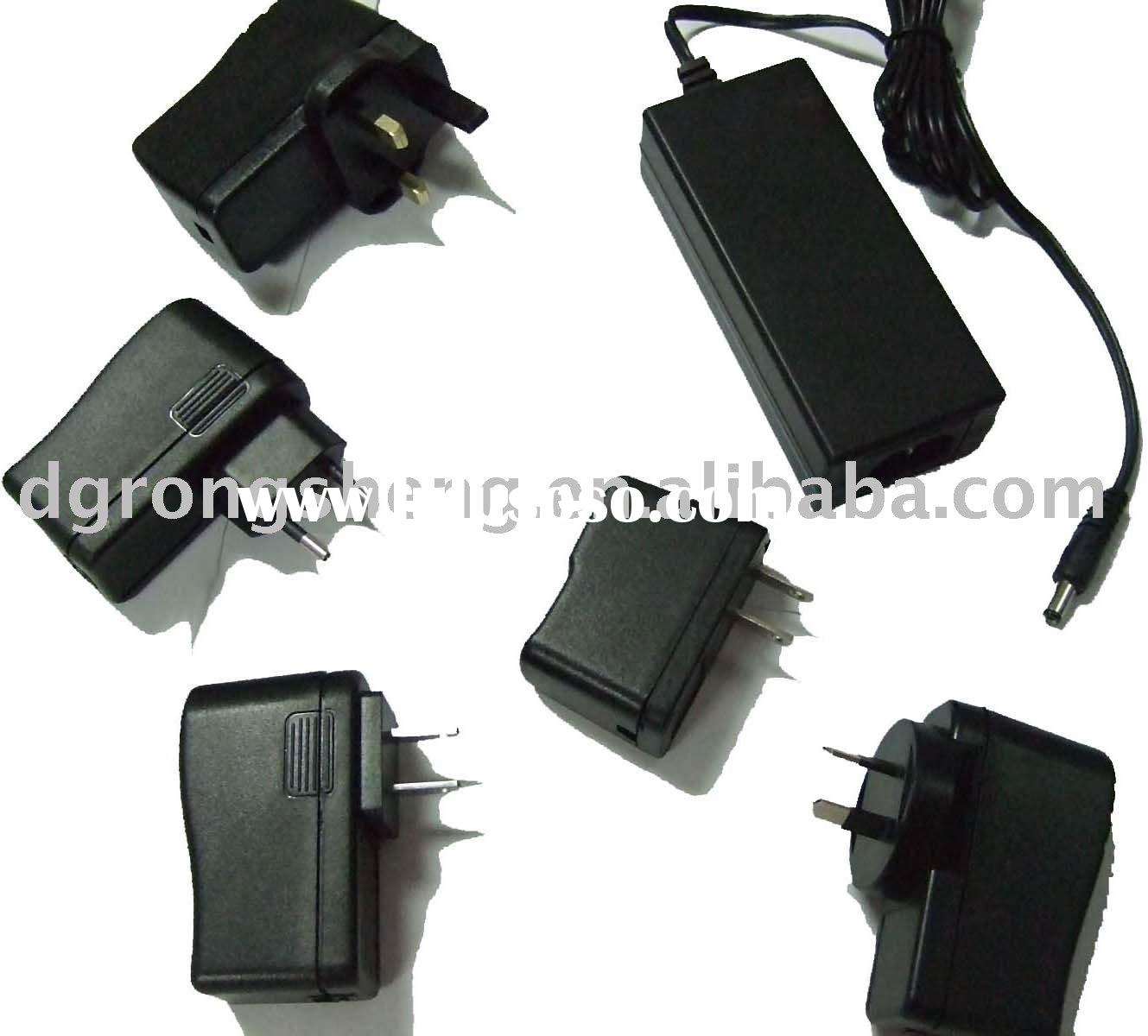 18W AC/DC Power Adapter, Low Power Consumption and Smart Appearance, Energy Efficiency 5 Switching P