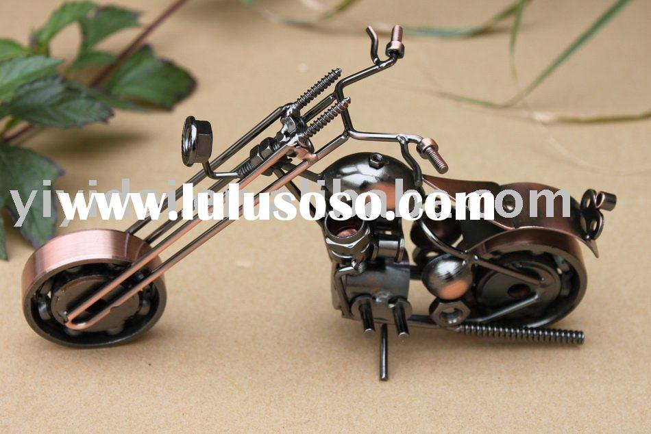 2012 new product hot sale collection promotion gift metal craft decorative motorcycle model