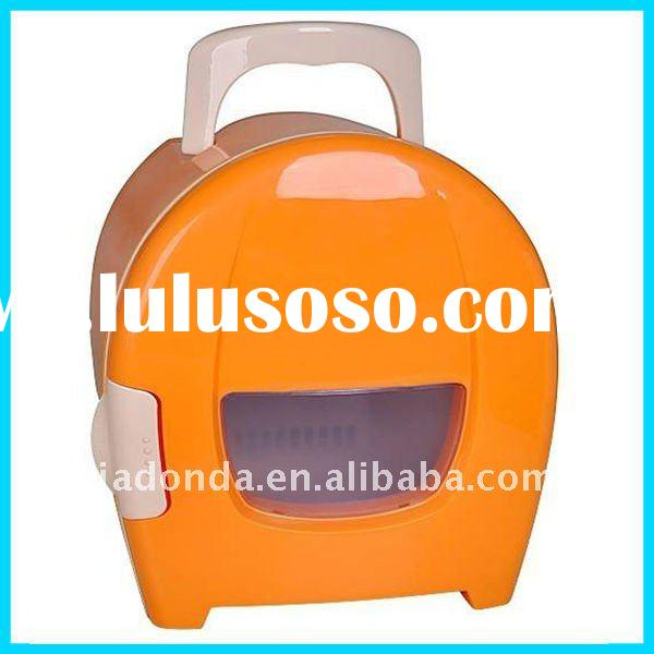 8L portable mini fridge for car beverage cooler warmer for travel or outside