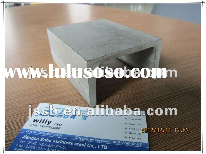 AISI 304, 201 ,316 , 321 ,hot rolled stainless steel Channel