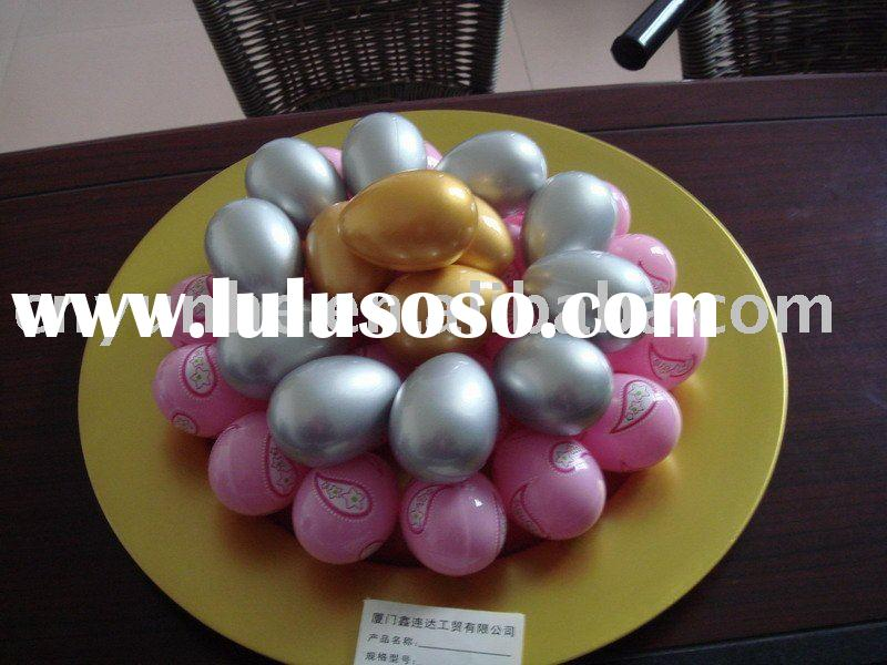 Easter Painted Wooden Eggs