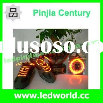 Hot Selling!!!Light Up Flashing LED Shoelace For Party Decoration