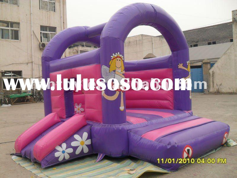 Hot mini princess inflatable bounce house for export