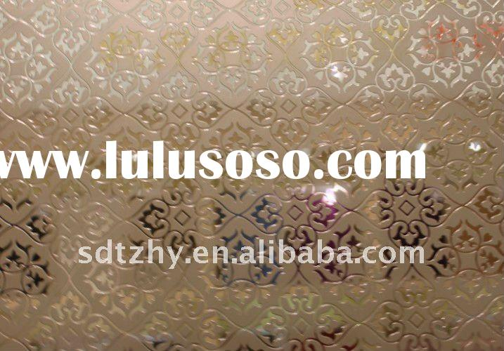 New technology!!! acid etched glass for furniture and cabinet