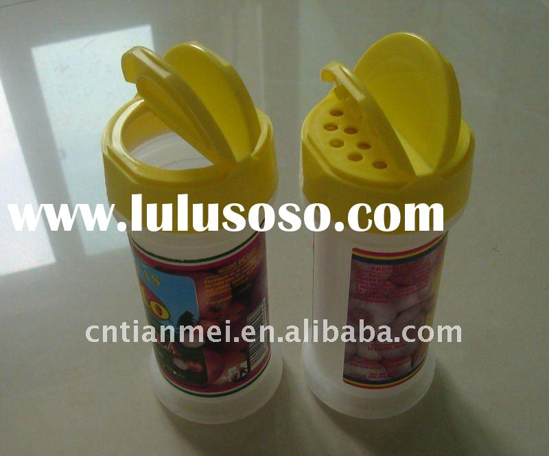 Plastic spice bottle cap