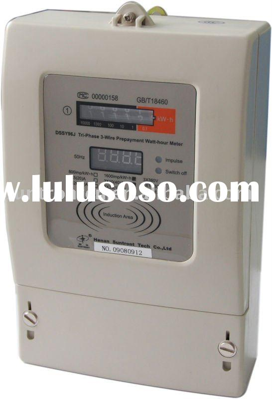 Prepaid Three-phase Electricity Meter