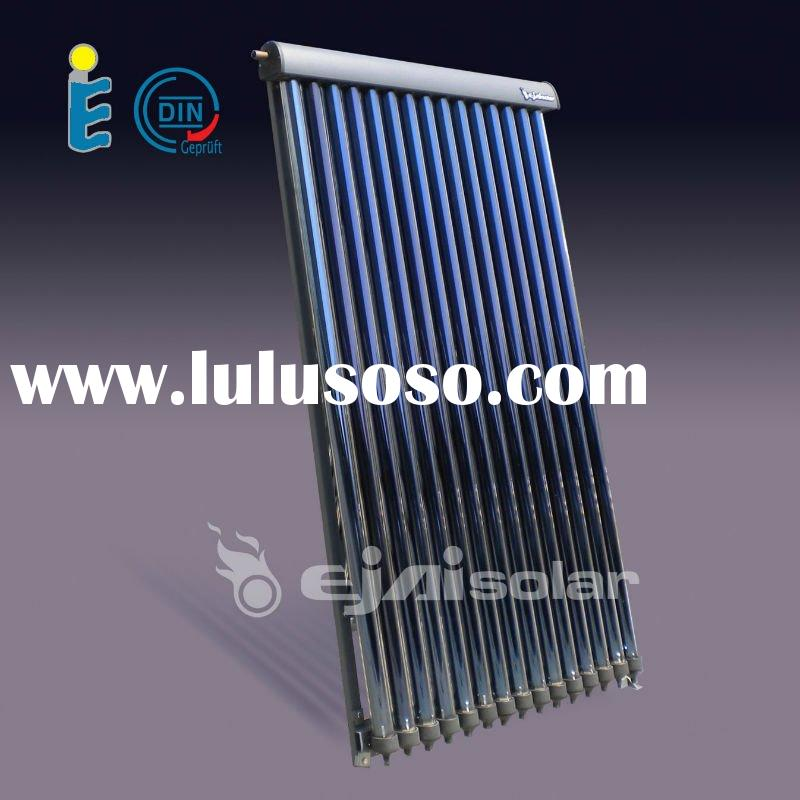 Solar Keymark, CE,SRCC Approved, Heat Pipe Evacuated Tube Pressurized Solar Collector
