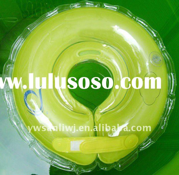 Summer Sea brand promotional pvc baby inflatable cervical ring