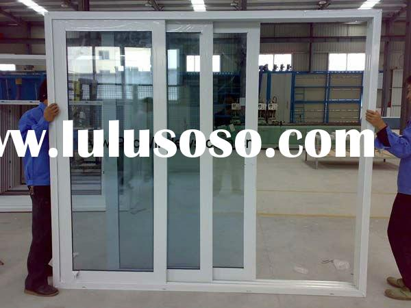 Three Panels PVC Door, Sliding Door, Door Frame