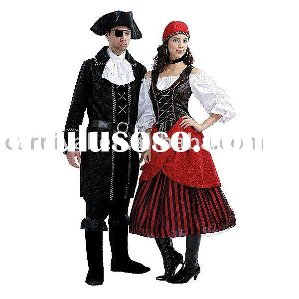 Totally Ghoul Pirate Captain Adult Costume bswc-0871