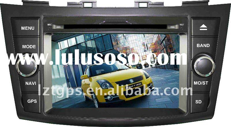 (NEW, Factory price) 2 din car dvd gps for suzuki swift with bluetooth usb sd radio tv+3D gps naviga