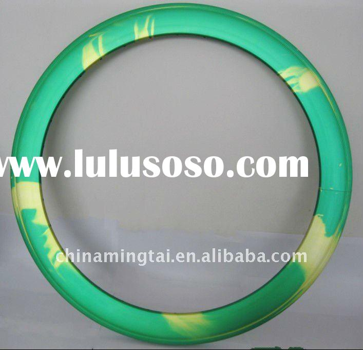 anodized -two colors fixed gear alloy rim 60mmH aluminum alloy bicycle rims (The New)