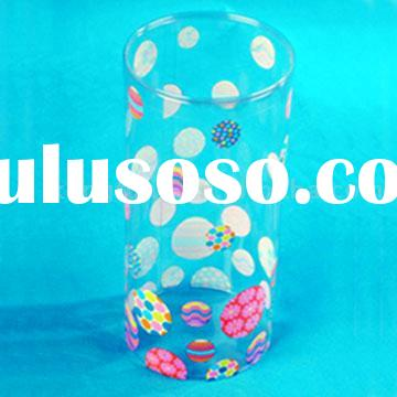 banded edge clear plastic acetate gift pet packaging tube