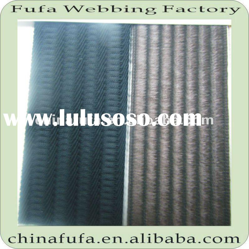 eco-friendly material fabric woven knitted elastic band ribbon belt webbing strap with different pat