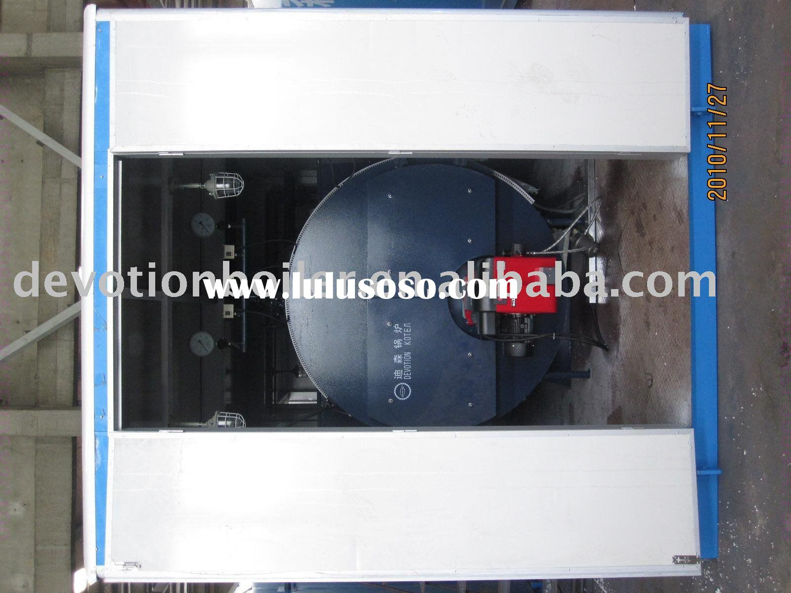 gas diesel oil fired steam boiler container boiler house