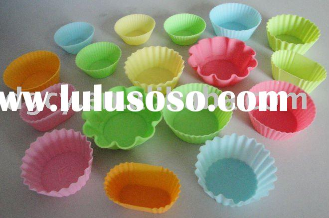 hot sell 2012 silicone best material cake cup FDA grade kitchen tool