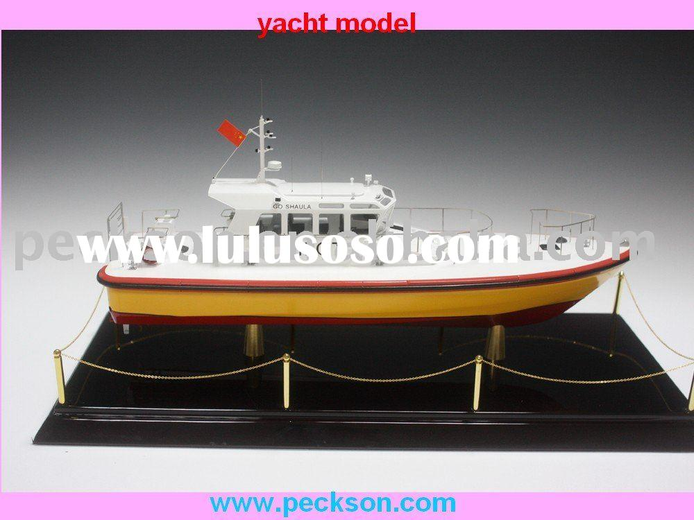 hot sell Fiberglass Yacht Model
