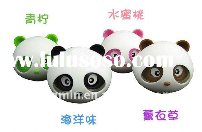 lovely panda solid put auto perfume/car air freshener