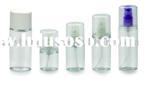 plastic lotion bottle for cosmetic package