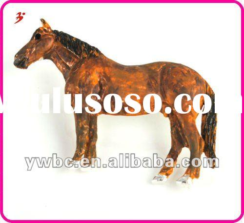 top quality cheap hot sale alloy silver horse pendants jewelry (A1105419)