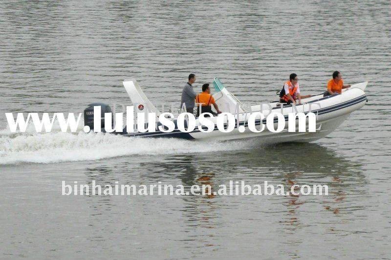 2010New style RIB 730-B (24ft) HYPALON material, Pleasure boat with CE approval