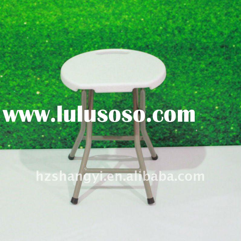 2011 new style cheap small plastic folding stool for kids