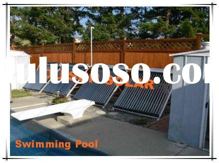 2012 Haining The Newest Swimming Pool Solar Water Heater