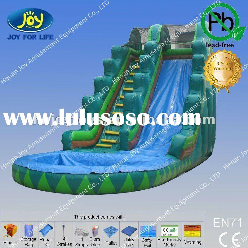 2012 hot inflatable water slide for rent