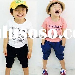2012 new design children's clothing set child cloth 2012 kids clothing