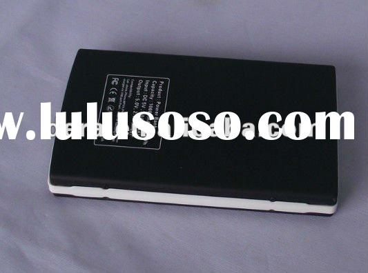 2012 newest universal portable power bank 10000mAh with 8pcs changer for dc 5V digital products