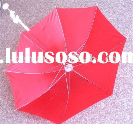 21''*8k bicycle& baby stroller clamp umbrella &parasol