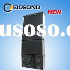 3-way passive and active line array speaker system