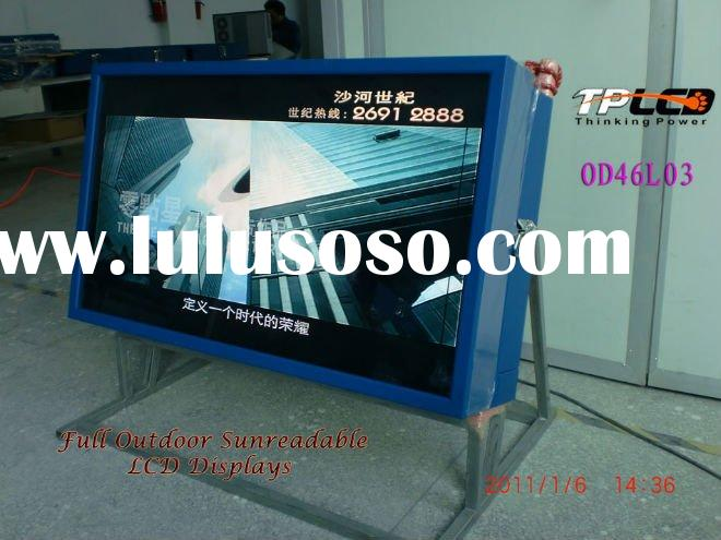 46 inch outdoor all weather lcd signage