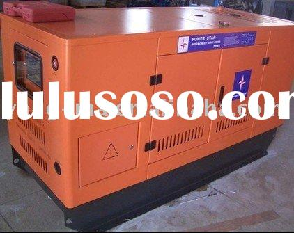 50kw-500kw water cooled soundproof engine power caterpillar diesel generator