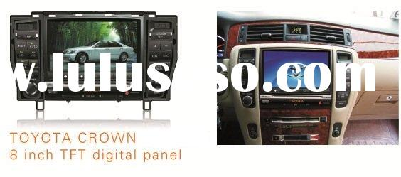 8 inch 2-din car dvd gps for Toyota crown