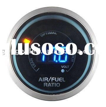 Air Gauge (Auto Meter / Racing Gauge 52mm digital 2 in 1 Air / Fuel Ratio with Volt)