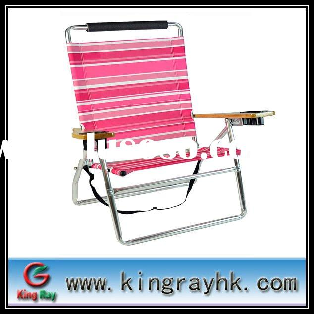 Aluminum beach chaise lounge chairs