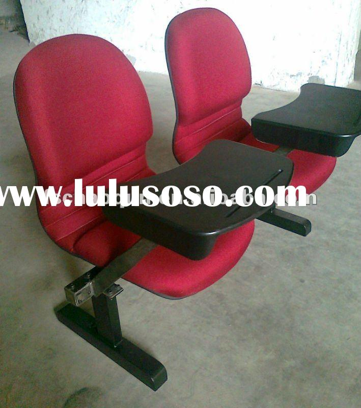 Auditorium chair withe table from foshan city E206