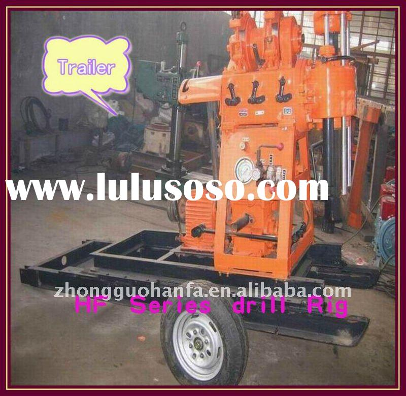 Best Choice !!! Most capable small well drill rig,portable SPT drilling equipment,Model HF200